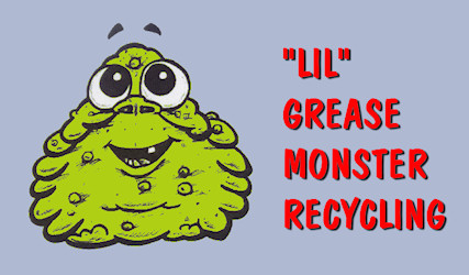 """Lil"" Grease Monster Recycling Provides used cooking oil/grease removal service to Central, North and East Texas."